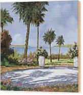 Il Giardino Delle Palme Wood Print