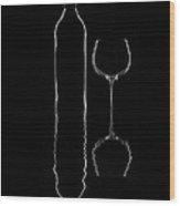 Il Vino Wood Print