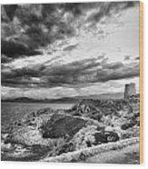 Ile Rousse Tower Wood Print
