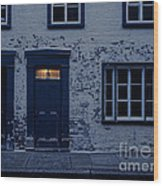 I'll Leave The Light On For You Wood Print by Edward Fielding