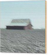 Illinois Barn Wood Print