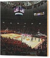 Illinois Fighting Illini Assembly Hall Wood Print by Replay Photos