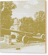 Illinois Veterans' Home Entry Wood Print