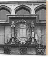 Illinois Wesleyan University Seal Wood Print