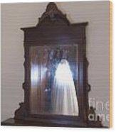 Illuminated Ghost Wood Print