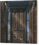 Illuminating The Past - Bodie Wood Print by Sandra Bronstein