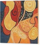 Illuminatus 4 Wood Print