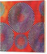 Illusions Wood Print