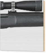Illustration Of The M24 Sniper Weapon Wood Print
