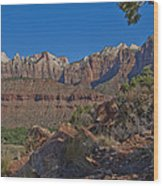 Image Of Zion 02 Wood Print
