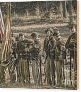 Images Of The Civil War Union Soldiers Wood Print