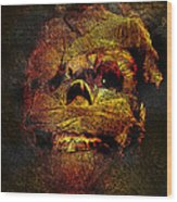 Imhotutt The Living Mummy Wood Print