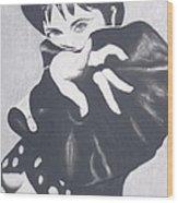 Immacualte Madonna Wood Print