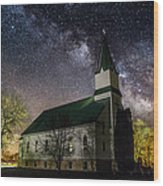 Immanuel Lutheran Church Wood Print
