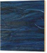 Immense Blue Wood Print