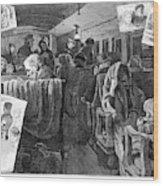 Immigrant Coach Car, 1881 Wood Print
