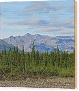 Imminent Riverbed Wood Print