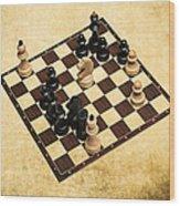 Immortal Chess - Byrne Vs Fischer 1956 Wood Print
