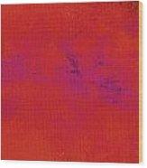 Impassive Scarlet Wood Print
