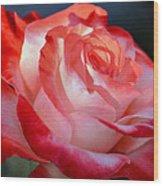 Imperfect Rose Wood Print