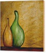 Imperfect Vases Wood Print