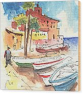 Imperia In Italy 01 Wood Print