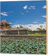 Imperial City Hue Vietnam Wood Print