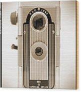 Imperial Reflex Camera Wood Print