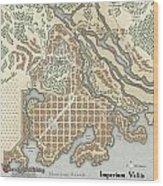 Imperium Vallis Wood Print