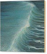 Impetus Summer Wave Wood Print