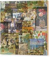Impressionism 1870s To Begin Xxth Century Wood Print
