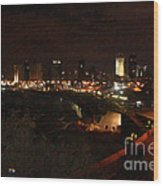 Jaffe At Night Wood Print