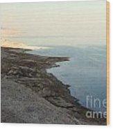 Impressionist Of The Dead Sea Wood Print