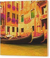 Impressionistic Photo Paint Gs 007 Wood Print