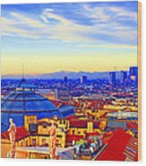 Impressionistic Photo Paint Gs 011 Wood Print by Catf