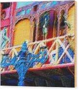 Impressionistic Photo Paint Ls 005 Wood Print