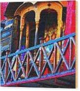 Impressionistic Photo Paint Ls 006 Wood Print