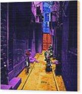 Impressionistic Photo Paint Ls 007 Wood Print