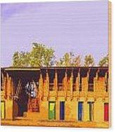 Impressionistic Photo Paint Ls 025 Wood Print
