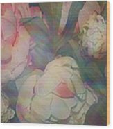 Impressionistic Spring Bouquet Wood Print