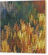 Impressionists Autumn Wood Print
