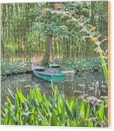 Impressions Of Monet Wood Print