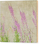 Impressions Of Spring Wood Print