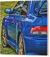 Impreza 22b Wood Print by Phil 'motography' Clark