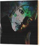 In A Britney Mood Wood Print