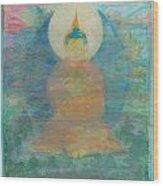 In A Fog Buddha Wood Print