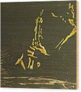 In A Sentimental Mood Wood Print