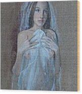 In Attesa Di Lui Wood Print