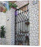 In Capri Wood Print by Julie Palencia