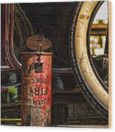 In Case Of Fire Wood Print